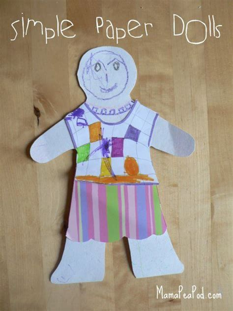 Paper Doll Crafts - 109 best all about me my theme images on