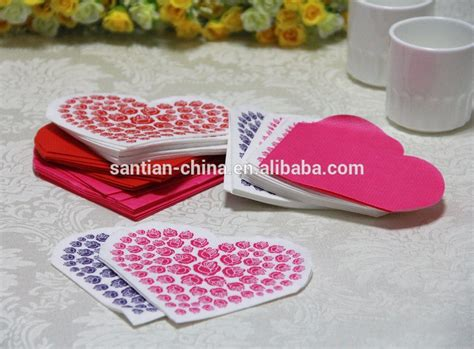 Pre Folded Paper Napkins - 40x60cm 3ply high quality custom printed pre folded paper