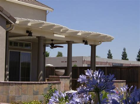 patio awnings and shade structures aluminum patio covers shade structures