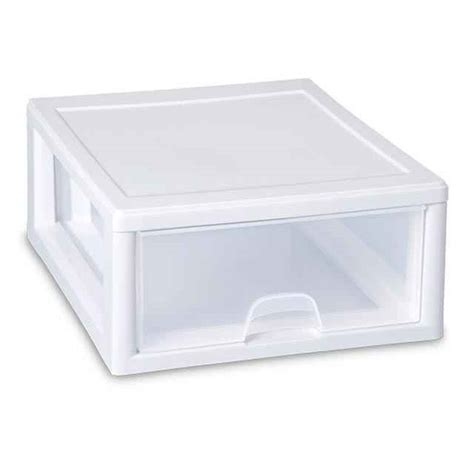 Plastic Stacking Drawers by Sterilite 16 Quart Stacking Drawer