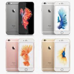 iphone 6s colors 3d c4d