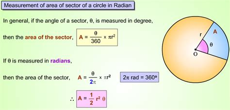 area of a section of a circle formula emaths chapter 10 arc lengths sector areas