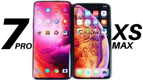 oneplus  pro  iphone xs max speed test youtube