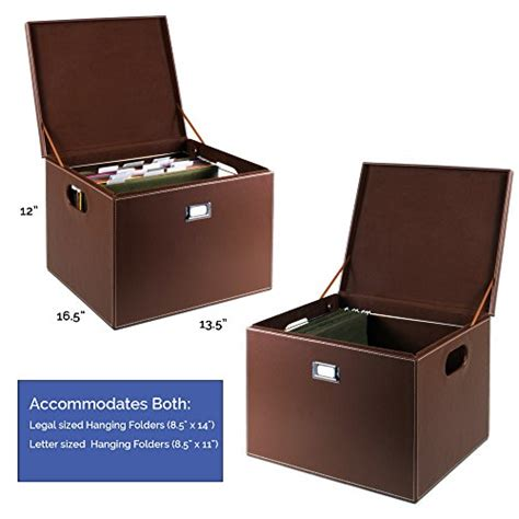 Decorative File Storage by G U S Decorative Office File And Portable Storage Box For