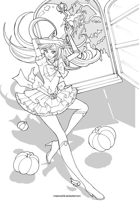 anime magical girl coloring pages magical girl by mokona418 on deviantart