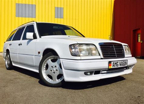 how cars engines work 1993 mercedes benz 300te interior lighting 1990 mercedes e class 300te wagon with amg body kit 500e w124 amg wagon clean for sale