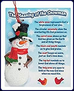 amazon com lot of 3 the meaning of the snowman christmas