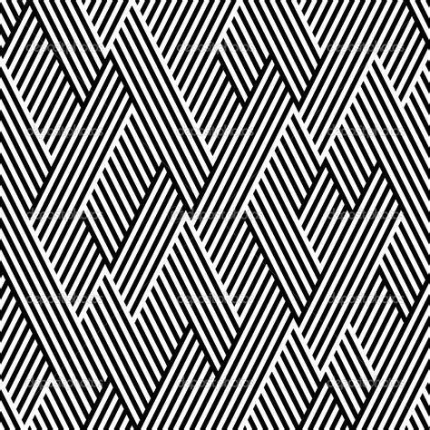pattern line black white pattern in zigzag with line black and white stock vector