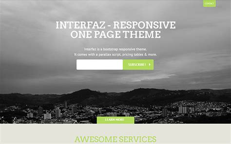 bootstrap themes free minimal 20 minimal bootstrap templates design shack