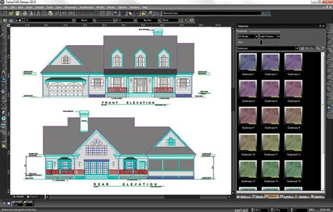 2d cad software reviews turbocad deluxe 2015 powerful 2d 3d drafting modelling and photorealistic rendering