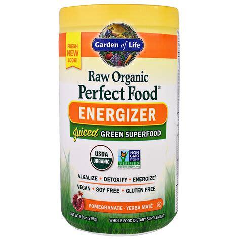 garden of energizer garden of organic food energizer pomegranate yerba mate 9 8 oz 279 g