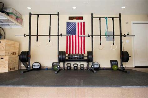 Garage Crossfit by His And Hers Garage Stuff I Want