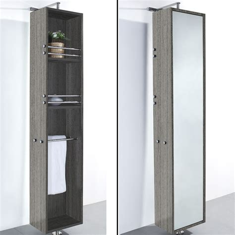 mirrored bathroom floor cabinet april grey oak floor cabinet with mirror zbathroomgallery