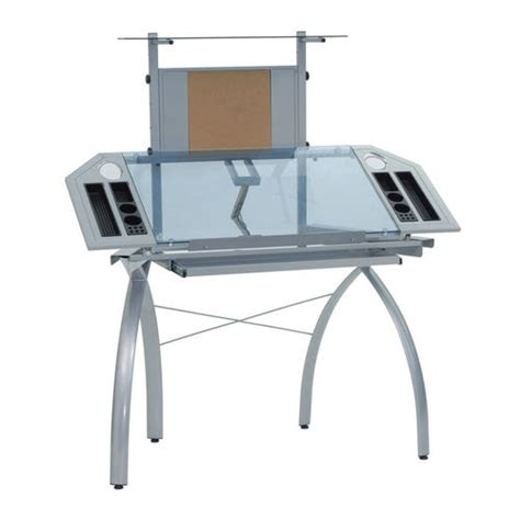 Futura Drafting Table Futura Tower Drafting Table By Studio Design At Brookstone Buy Now