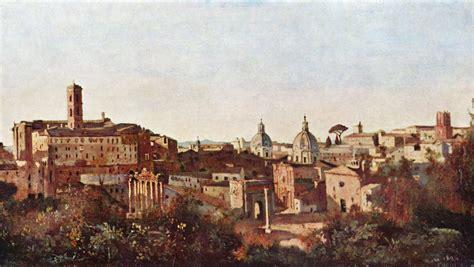 gärten der jean baptiste camille corot rom forum und die farnese
