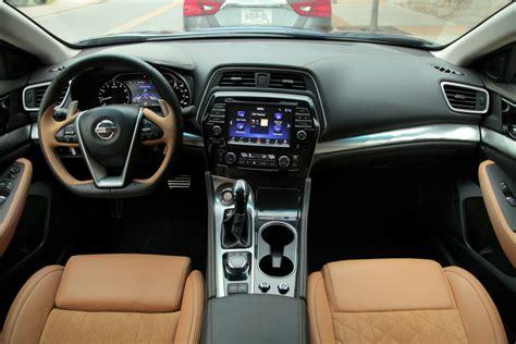 nissan maxima 2016 interior 2016 nissan maxima review autoguide com news