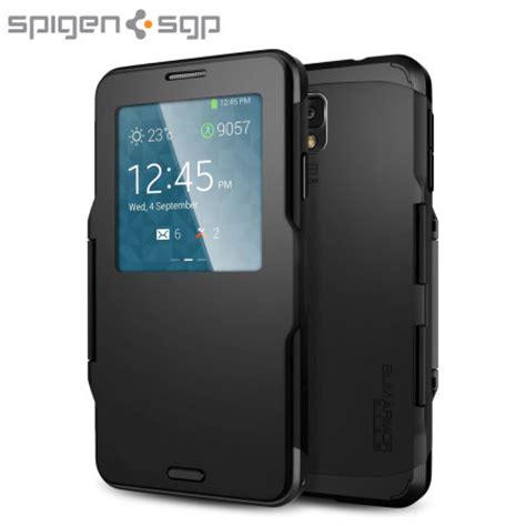 Back Spigen Samsung Note 3 spigen slim armor view for samsung galaxy note 3