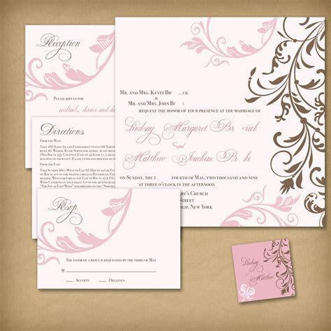 wedding invitation templates card invitation templates