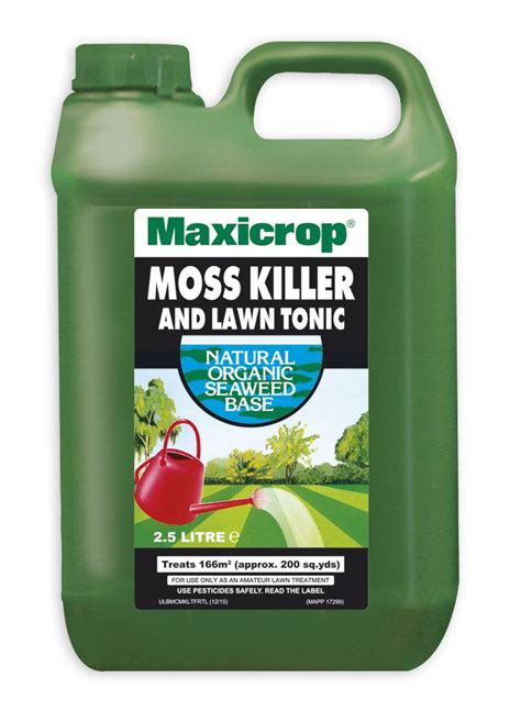 new approval for maxicrop moss killer and new lower