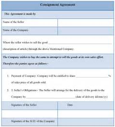 free consignment agreement template agreement template for consignment template consignment