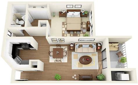 One Bedroom Apartments Floor Plans by 30 Inspira 231 245 Es De Plantas De Casas Para Seu Projeto