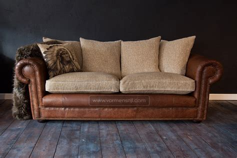 Leather Sofa Sticky by 2 Exclusive Arthur Mcmillan Chesterfield Sofa S In Thick Waxed Saddle Leather