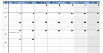 Mac Calendar Template by Printable Calendar Template For Mac Cover Letter Templates