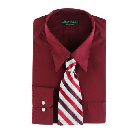 blazer dress shirt set david collection s dress shirt and tie set