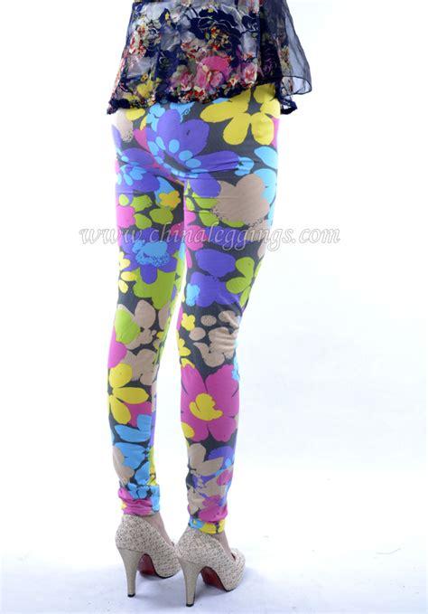 flower pattern jeggings sexy flower pattern leggings china leggings