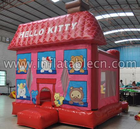 inflatable  kitty bounce house gb  inflatables