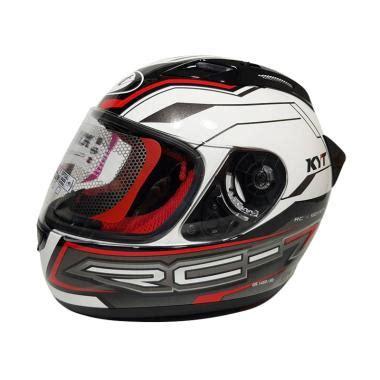 Helm Kyt Rc Seven 14 By Saungmotor jual visor helm kyt rc7 terbaru harga murah blibli