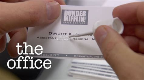 Assistant To The Regional Manager dwight schrute becomes assistant regional manager the