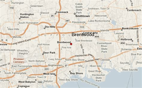 brentwood map brentwood location guide