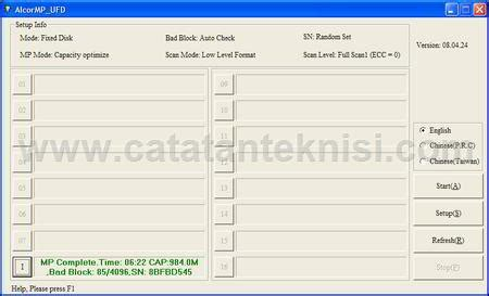 format low flashdisk how to fix error flashdisk