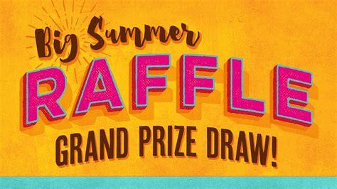 Drawing Vs Raffle by Hospice Big Summer Raffle Prize Draw