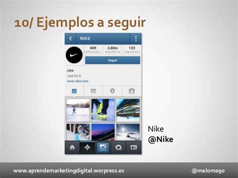 tutorial uso instagram manual uso instagram