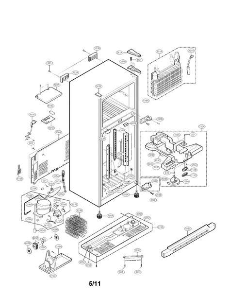 kenmore refrigerator parts diagram parts diagram parts list for model 79579293902