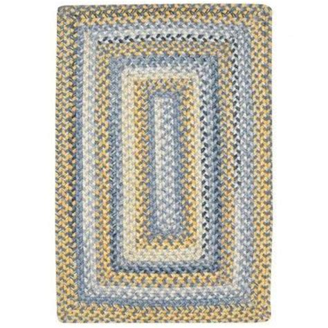 blue and yellow kitchen rugs capel prarie blue and yellow braided rug blue and yellow kitchen
