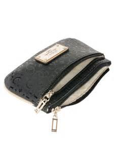 porte monnaie femme de marque guess porte monnaie swsg46 55570 noir femme des marques