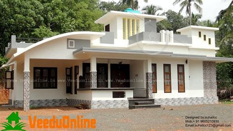 1300 sq ft single floor contemporary home design