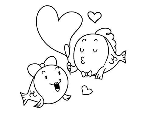 imagenes de amor para colorear tumblr dibujos de peces enamorados im 225 genes para pintar