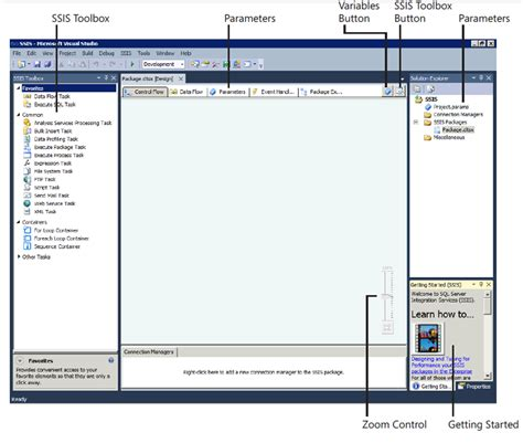 visual studio 2012 ssis project template general interface changes in sql server 2012 ssis