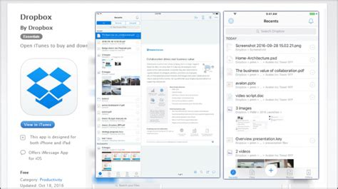 dropbox app 5 new ios dropbox features let you work from wherever