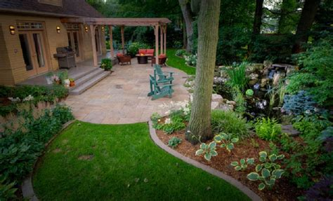 landscape designs for backyards small backyard landscaping ideas patio pdf