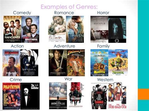 film genres film genre powerpoint