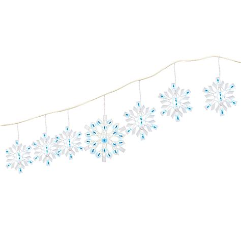 twinkling snowflake christmas lights lights