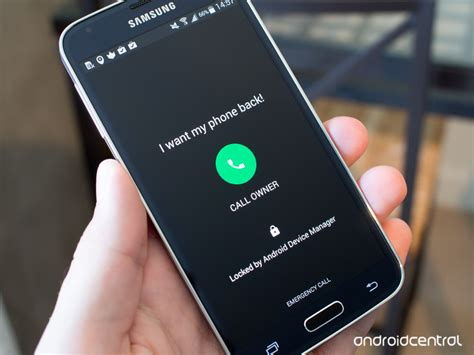 android devicemanager android device manager adds message and callback number options for lost phones android central