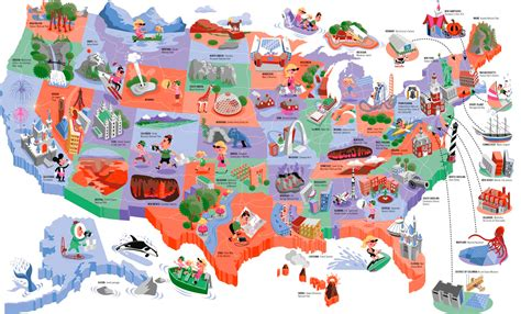 usa travel map usa travel guide map