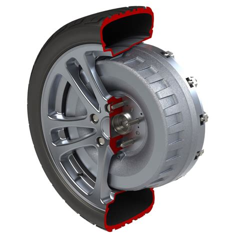 Wheels Motor protean in wheel electric motor to enter production in 2014