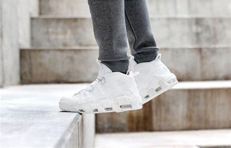 Sepatu Nike Uptempo Air More High White nike air more uptempo white fastsole co uk